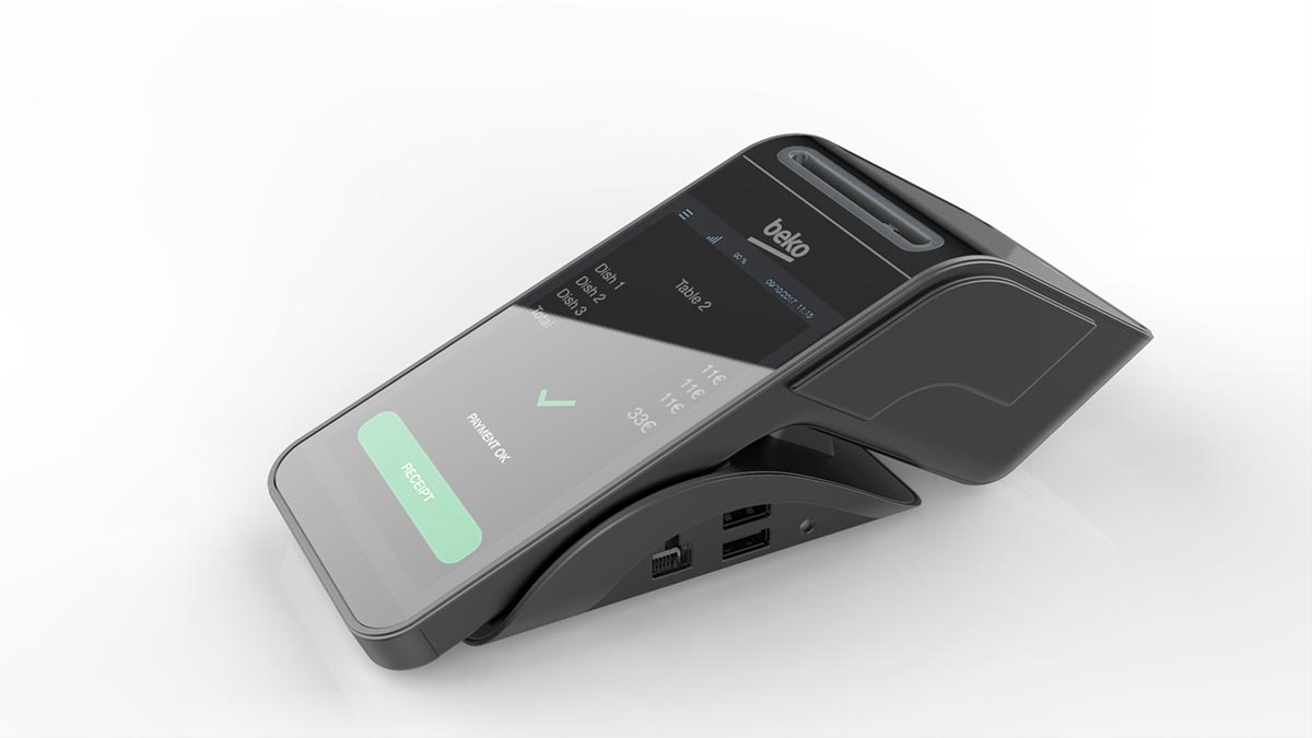 CES 2019 Honoree: Design of Token Inc. Mobile Payment Terminal