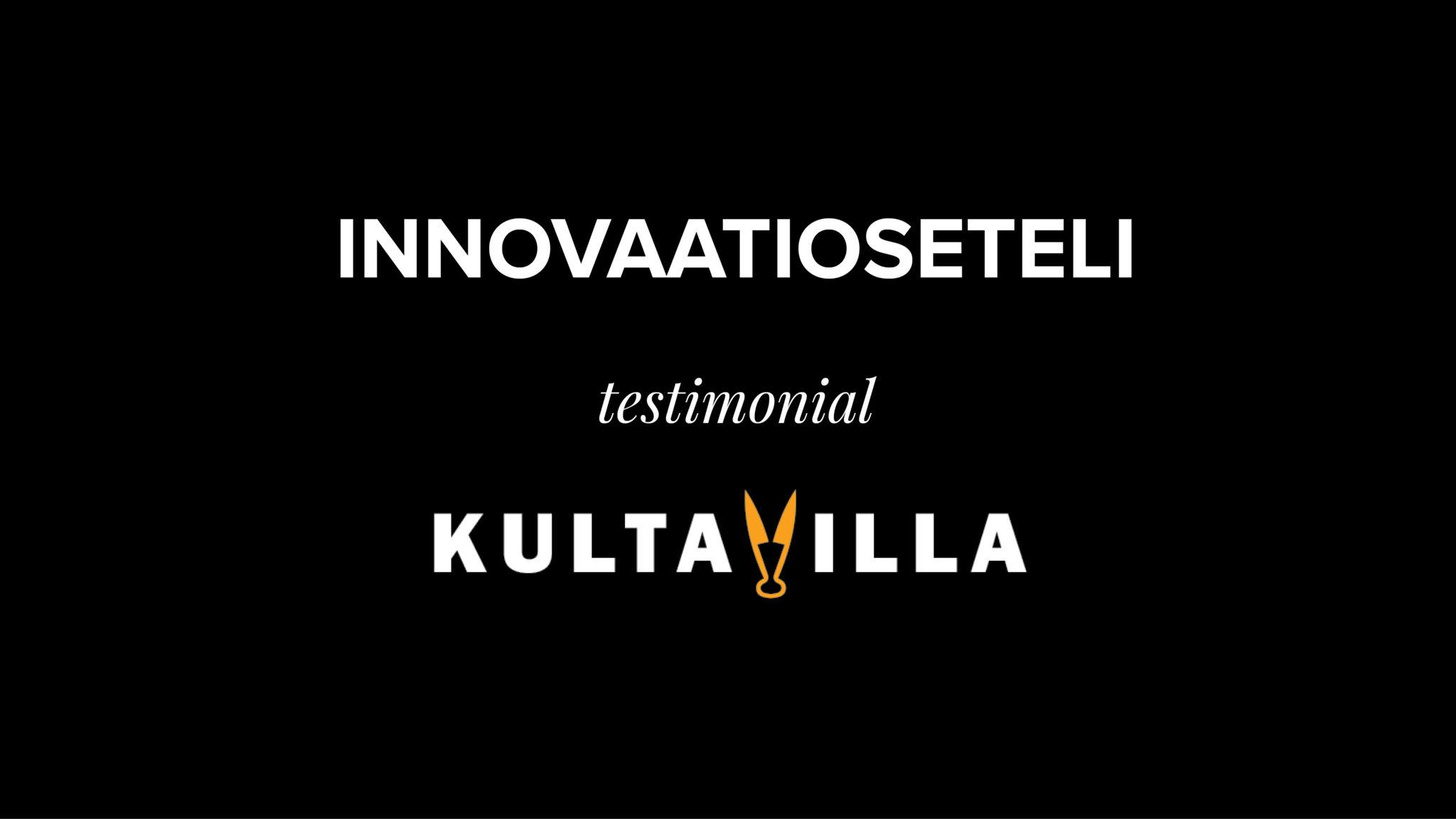 The Innovation voucher – Kultavilla