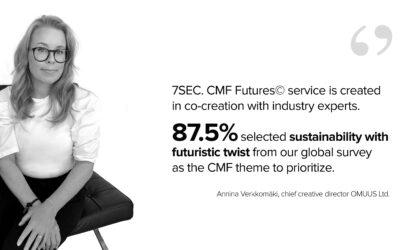 7SEC. FUTURES© – a unique CMF trends driven material translation service
